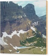 Glacial Pond Wood Print