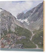 Glaciated Valley Wood Print
