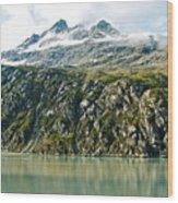 Glacier Bay 2 Wood Print