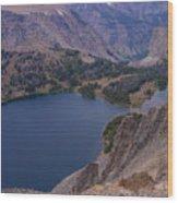 Glacier Lake 2 Wood Print