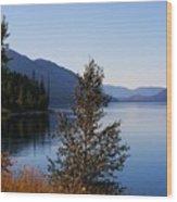 Glacier Lake Wood Print