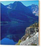 Glacier National Park #1 Wood Print