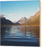 Glacier National Park 7 Wood Print