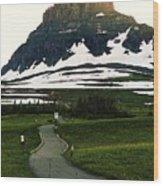 Glacier National Park 8 Wood Print
