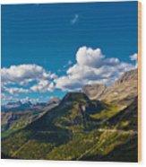 Glacier National Park Wood Print
