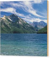 Glacier National Park Wood Print