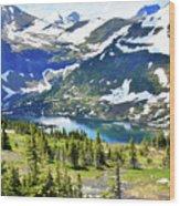 Glacier National Park2 Wood Print