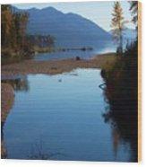 Glacier Park 10 Wood Print