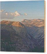 Glacier Point Panorama Wood Print