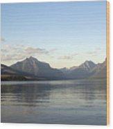 Glacier Reflections 3 Wood Print