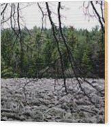 Glacier Rock 1 Wood Print