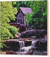 Glade Creek Grist Mill 004 Wood Print