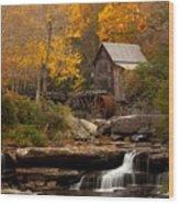Glades Creek Mill Wood Print