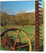 Gladie Cickle Wood Print