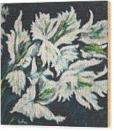 Gladioli Wood Print