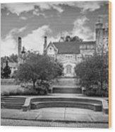 Glamorgan Castle Bw. Wood Print