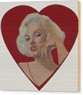 Glamour Portraits Wood Print