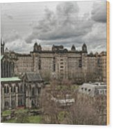 Glasgow Cathedral And Victoria Infirmary Wood Print