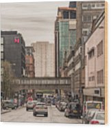 Glasgow Renfield Street Wood Print