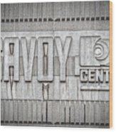 Glasgow Savoy Centre Wood Print