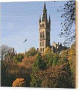 Glasgow University Wood Print