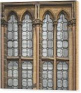 Glasgow Unversity Window Wood Print