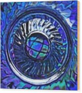 Glass Abstract 480 Wood Print