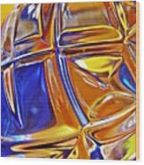 Glass Abstract 768 Wood Print