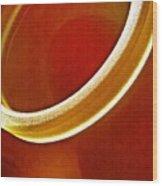 Glass Abstract 776 Wood Print
