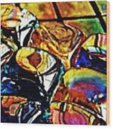 Glass Abstract Wood Print