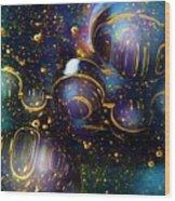Glass Bubbles 2 Wood Print