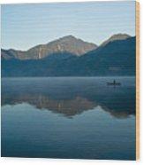 Glass Lake Atitlan Guatemala 1 Wood Print