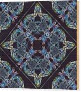 Glass Pattern Wood Print