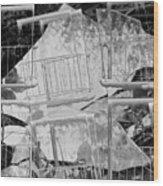 Glass Wood Print