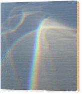Glass Rainbow Wood Print