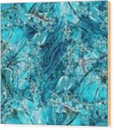 Glass Sea Wood Print