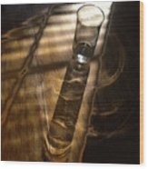 Glass Shadow Wood Print