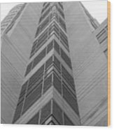 Glass Tower Wood Print