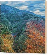 Glassmine Overlook Wood Print