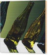 Glassworks Wood Print by Barbara  White