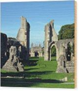 Glastonbury Abbey 1 Wood Print