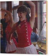 Glee Wood Print
