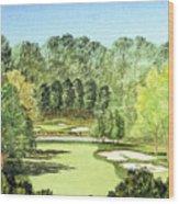 Glen Abbey Golf Course Canada 11th Hole Wood Print