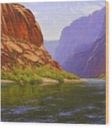 Glen Canyon Morning Wood Print