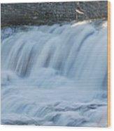 Glen Falls 8956a Wood Print
