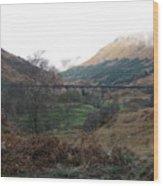 Glen Finnian Viaduct Wood Print