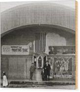 Glen Lyon Pa. Family Theatre Early 1900s Wood Print