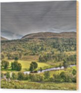 Glen Lyon Scotland Wood Print