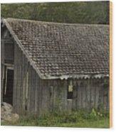 Glen Park Barn Wood Print