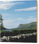 Glencar Lake With View Of Benbulben Ireland Wood Print